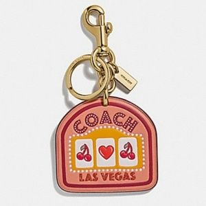 Coach Las Vegas Bag Charm / Key Ring